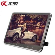 Ультратонкий Автомобильный подголовник XST 10,2 дюйма, MP5 плеер, HD 1080P видео TFT экран с разъемом USB/SD/HDMI/fm-передатчик/динамик
