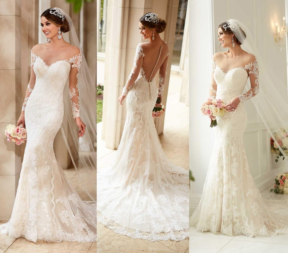 inexpensive mermaid wedding dresses