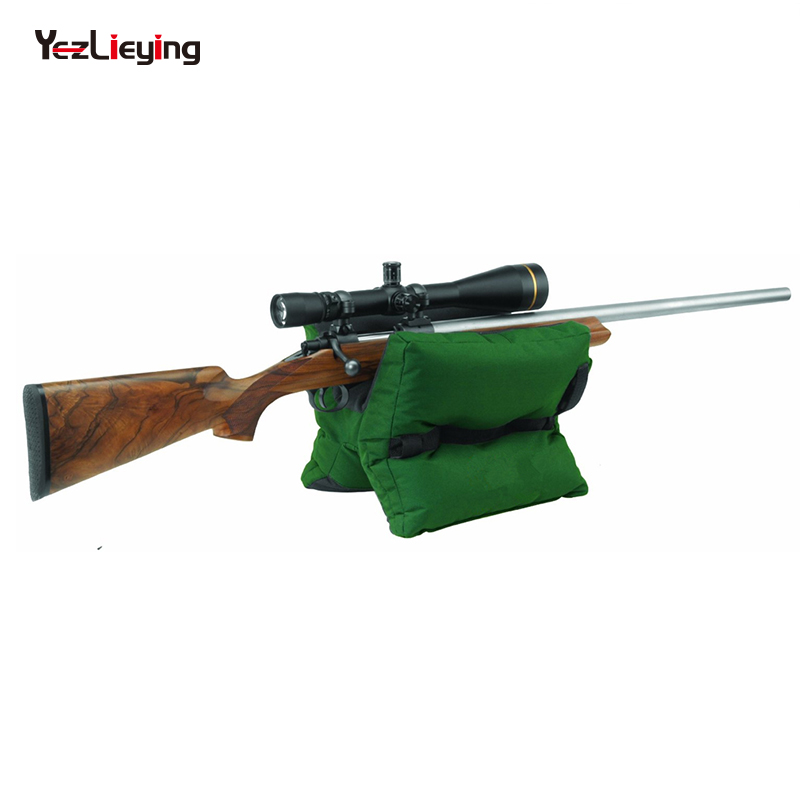Hunting outdoor tack driver hunting shooting gun accessories shooting stand bag gun gun target sports rifle bench unfilled sand