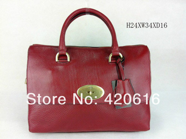 2017 Fashion New Women Genuine Leather Del Rey Shoulder Handbags Tree Logo Designer Brand Bags Totes