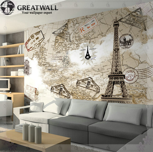 Papel tapiz para cocina for Murales en 3d para salas