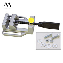 Drill press vise for Drill press stand Power Tool Parts Mini Vice Flat Pliers Mini Bench Clamp repair tools