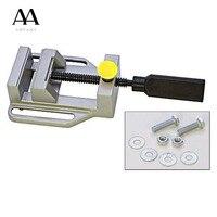 Drill Press Vise For Drill Press Stand Power Tool Parts Mini Vice Flat Pliers Mini Bench