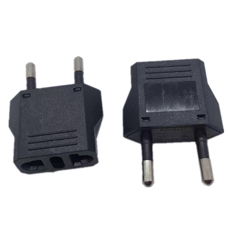 10X Mini Universal European US to EU AC Travel Outlet Plug Adapter Converter USA