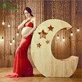 2016 Hot Sales Elegant Pregnant Women Photo Shoot Studio Clothing Set Fashion Lady Top+ Long Dress Photography Props Clothes Set