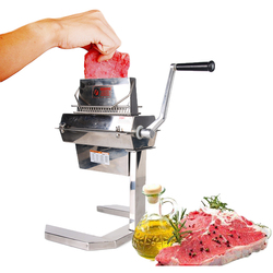 ITOP Meat Tenderizer Machine Commercial Meat Tenderizer  Tool Stainless Steel Poultry Steak Beef Maker Manual Kitchen Cook Tool