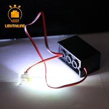 Lightailing брендовый дизайн Электрический задний фон с изображением