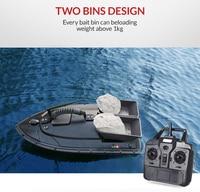 Быстрый Электрический рыбацкая лодка 500 м удаленного Управление Рыболокаторы рыбалка игрушки лодки приманку большой Размеры 53X27X17 см Анти т