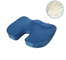 CAMMITEVER Memory Foam Seat Message Cushion For Chair Car Office Home Bottom Seats Orthopedic