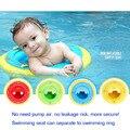 Não há necessidade de bomba de ar Mais Segurança Natação Assento Anel da Nadada livre Qualidade Bebê criança criança anel da sede de Natação inflável do natal presente