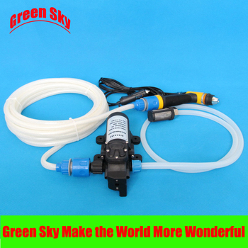 80W 5.5L/Min car wash 12v for car,lawn,garden,vehicle cleaning, carpet cleaning 5 5l min 80w vehicle mounted kits car wash pump for lawn garden vehicle cleaning carpet cleaning