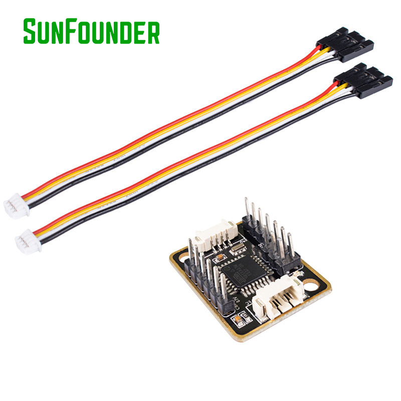 SunFounder MultiWii MWC I2C-GPS NAV Module Navigation Board for MWC Flight Dron RC Helicopters Drones crius mwc multiwii se flight controller bluetooth module parameter debug adapter