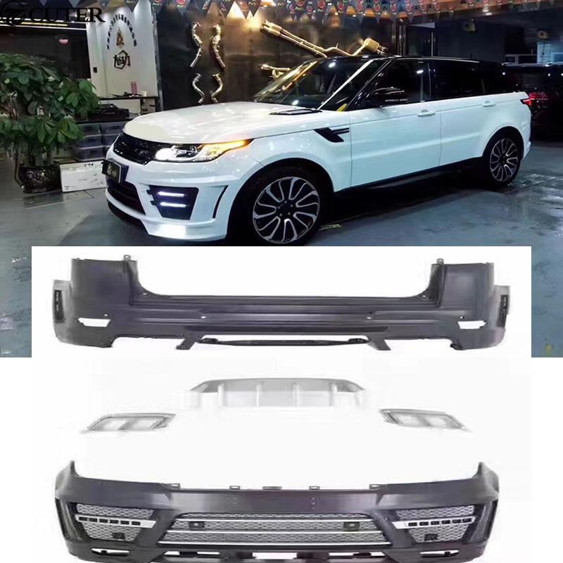 Car Body Kit FRP Unpainted Front Rear Bumper For Range
