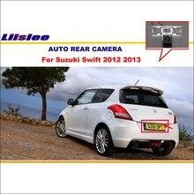 Liislee заднего вида Камера для Suzuki Swift 2012 2013/обратный резервный Камера/HD CCD RCA ntst PAL /Обратный отверстие Камера