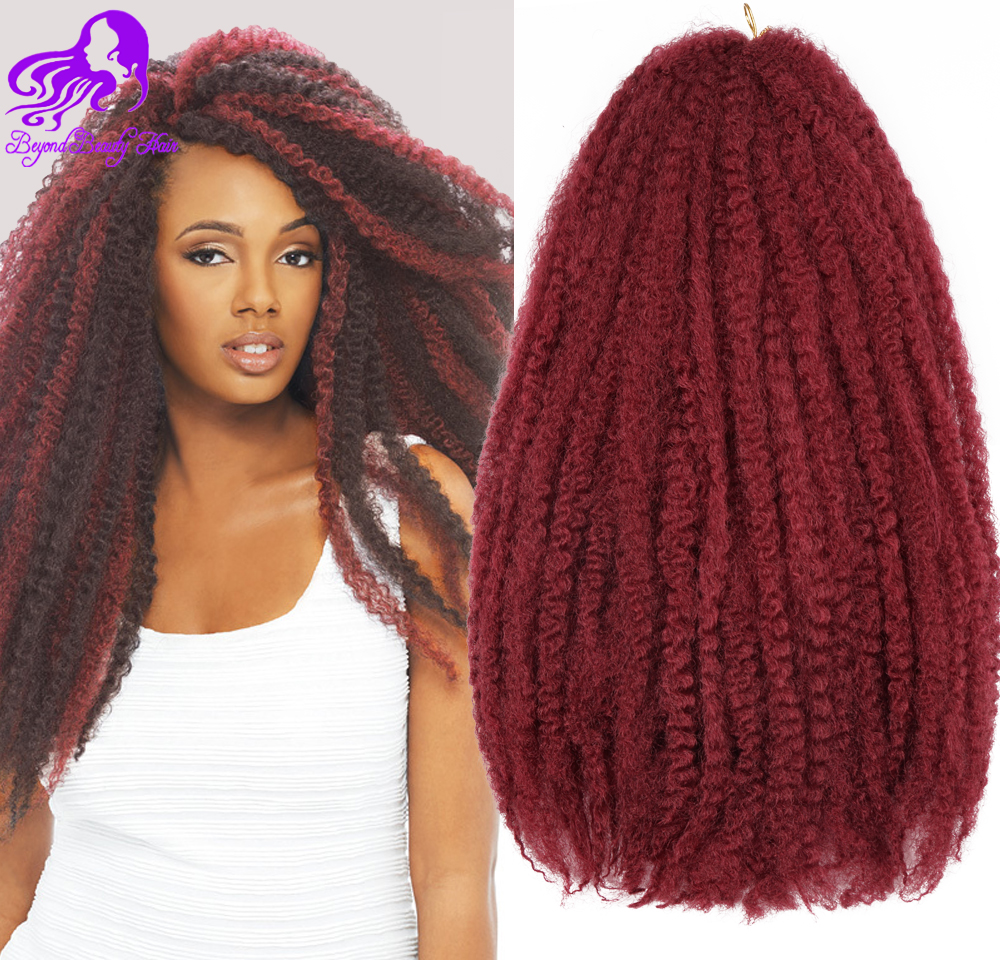 Afro Twist Hair Crochet Braids 12 Colors Ombre Marley Braid 18inch Senegalese Curly Synthetic Braiding On Aliexpress Alibaba