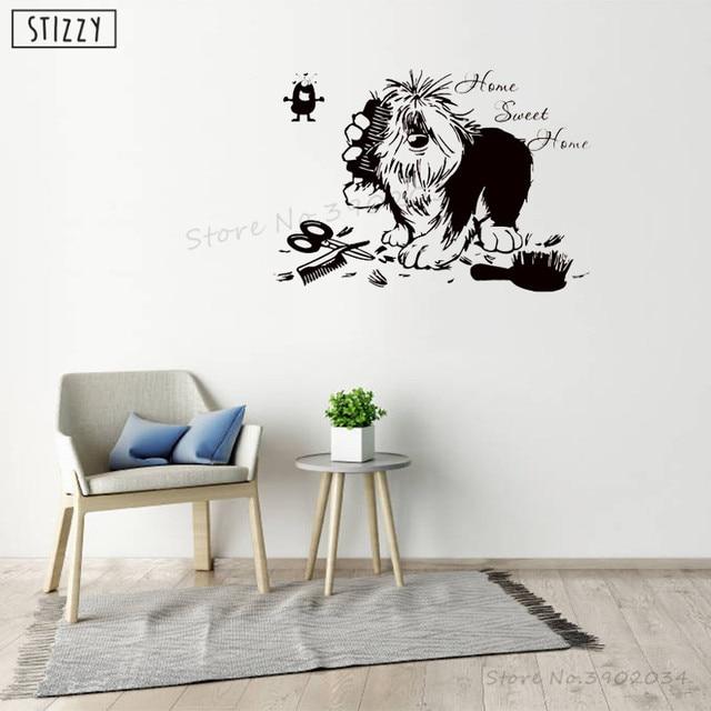 Dog Grooming Salon Vinyl Wall Sticker