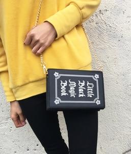 Image 4 - ENJOININ Fashion Magic Book Design Pu Purse Daily Clutch Bag Ladies Shoulder Bag Handbag Womens Crossbody Mini Messenger Bag