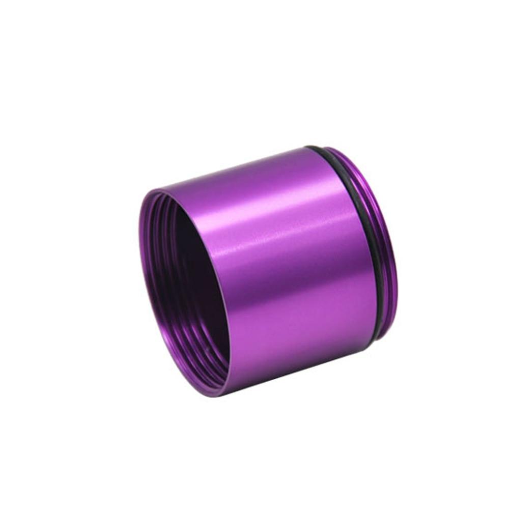 """HORNET Stash Jar-герметичный, устойчивый к запаху алюминиевый контейнер для специй с 2 слоями, чехол для табака """"вы можете собрать его самостоятельно"""" - Цвет: Purple"""