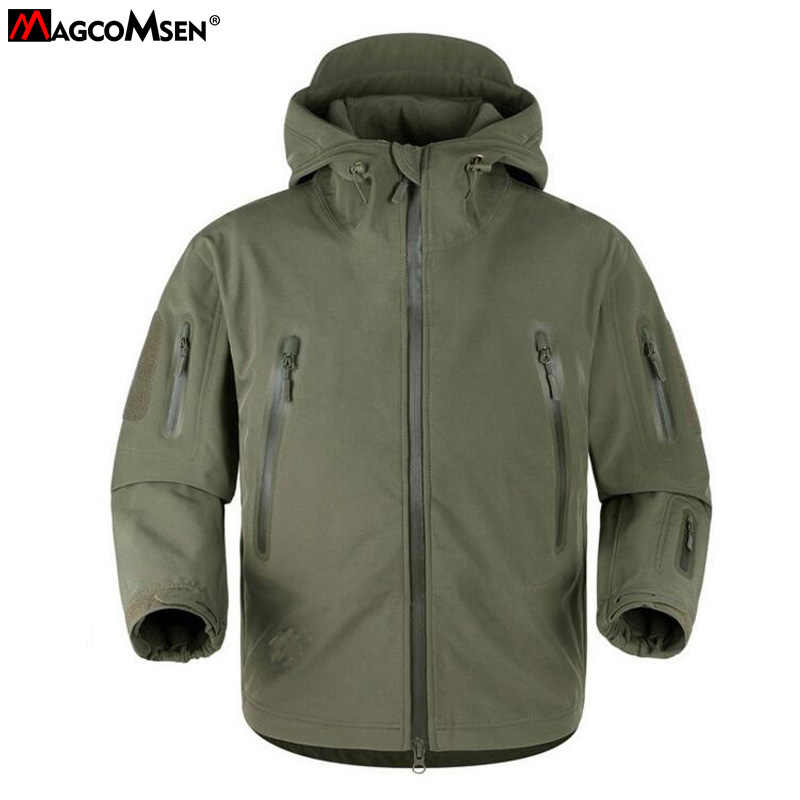 2f49fd5a9ddcb MAGCOMSEN Jacket Man Shark Skin Soft Shell V 5.0 Military Tactical Jacket  Men Waterproof Man Army