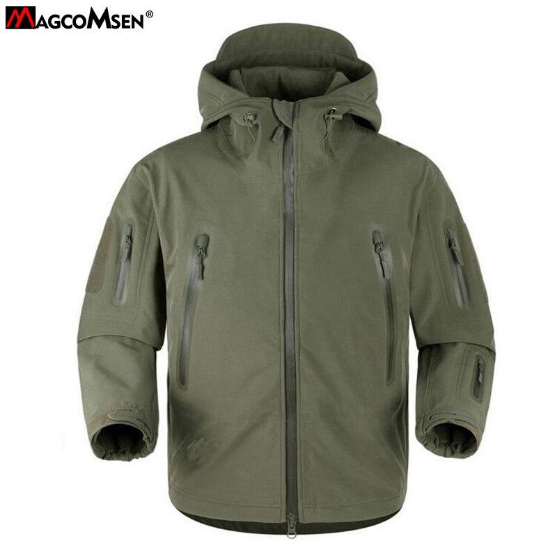 MAGCOMSEN Lurker Shark Skin Soft Shell V 5.0 Military Tactical Jacket Men Waterproof Windproof Man Army Jacket Coat AG-YCXL-001