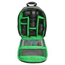 Водонепроницаемый Камера сумка Противоударный раздела DSLR цифровой Камера рюкзак открытый видео Камера сумка 5 цветов Внутренняя рюкзак