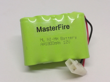 MasterFire 4PACK/LOT New Original 12V AA 1800mAh Ni-MH Battery Pack Rechargeable Batteries with plug