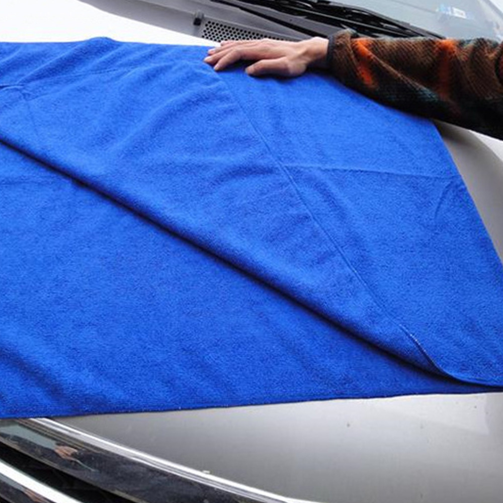 PREUP hot sale 30*30 Microfiber Absorbent Cleaning Car Detailing Soft Cloths Wash Towel Sponges Clothes & Brushes No scratching