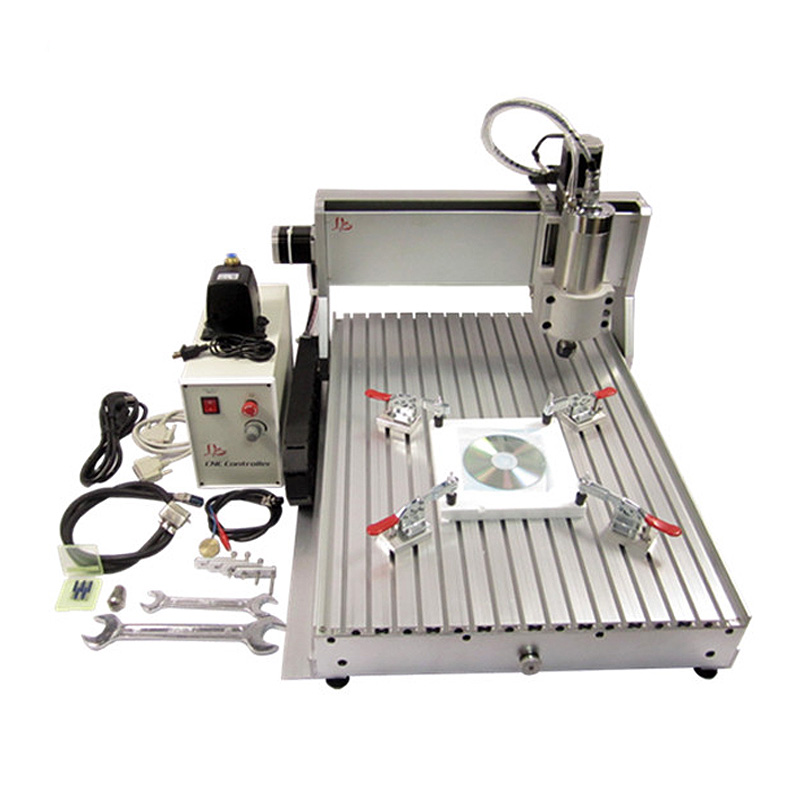 2017 2018 Newest model LY 6040Z VFD1.5KW 3axis CNC engraving machine mini cnc router upgraded from CNC 6040