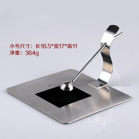 The New High Grade Stainless Steel Paper Towel Holder Napkin Holder KTV Bar Towel Rack Tissue