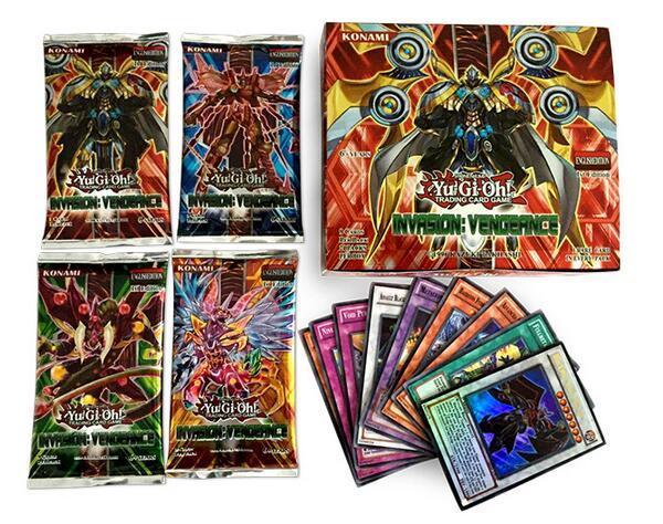 216pcs1lot yugioh game paper cards toys english version