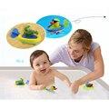 Brinquedo do Banho do bebê Clockwork Dabbling Andar Animais Crocodilo Dos Desenhos Animados Pato Voz Para A Frente no Chão de Natação em Água