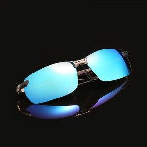 Image 3 - Açık sürme güneş gözlüğü kadın erkek yansıtıcı gece görüş parlama önleyici gözlük UV400 araba güneşliği Plarization güneş gözlüğü kadın