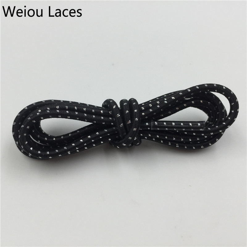 Weiou Colorful Lazy Shoe Laces Elastic Shoelaces Running Shoestrings Running/Jogging/Triathlon/Sports Kids Mens Shoes Fitness