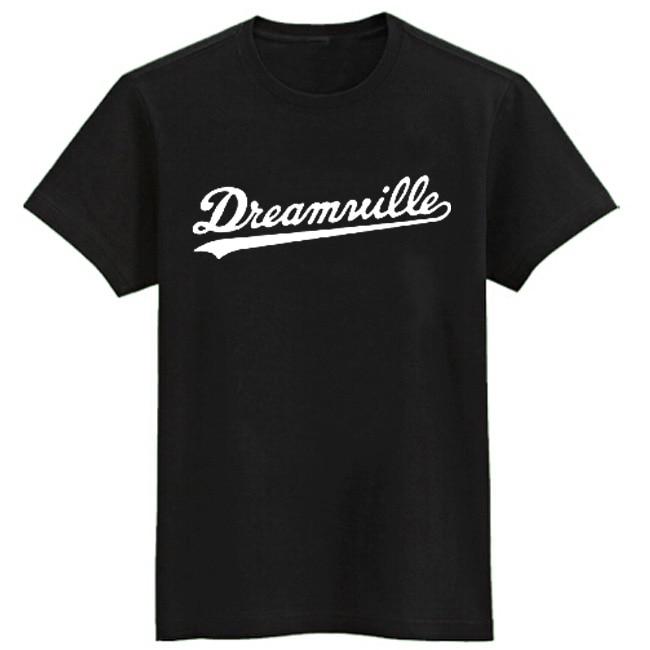 J.COLE same style t shirts short sleeve t-shirt Dreamville tee shirt hip hop t shirt men brand Jermaine Cole tshirt cotton