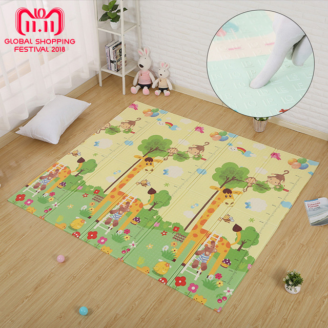 Children Play Mat Waterproof Kids Cartoon Puzzle Carpet In The Nursery Rug Crawling Toy