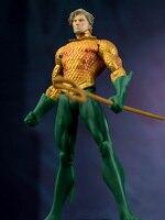 DC New Arrival Aquaman Arthur Curry PVC Action Figure Collectible Model Toy 17cm