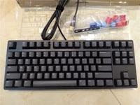 IKBC C87 TKL mechanical keyboard tenkeyless C87 PBT keycap cherry mx silver switch brown speed non backlit gaming keyboard