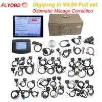 V4.94 Digiprog iii Odometer Correction Digiprog 3 Universal mileage correction Tool Mileage Programmer Digiprog3 Full Set