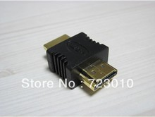 Retail+wholesale Gold Plated hdmi male to male adapter 1080p 1080i 720p for LCD monitor HDTV Projector DVD other home theater