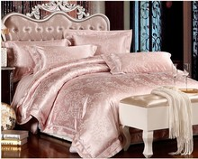 Gros pale pink sheets