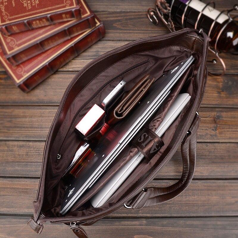 negócio ombro homensageiro sacolas de Tipo de Ítem : Messenger Bags