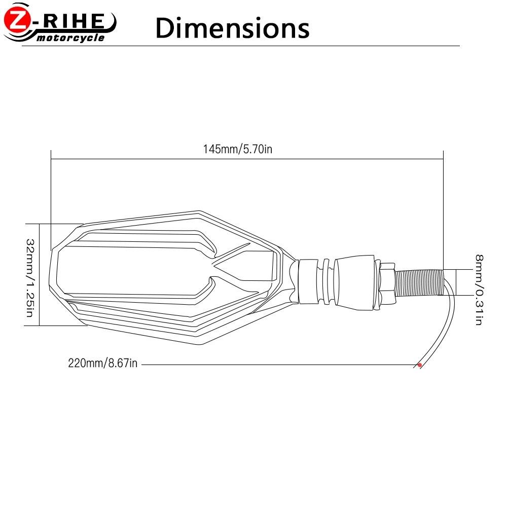 For Honda TRANSALP 600 VP VR VS VM VN VK VL VH VJ VT VV VX Turn Signal Motorcycle Led Signal Lamp Flicker Moto Turn Signal