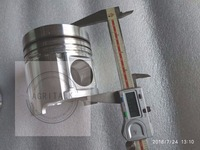 LR4A3Z-23 o turbo para YTO904 trator  o conjunto do pistão (dia. 105mm) com anéis de pistão para um motor  número da peça:
