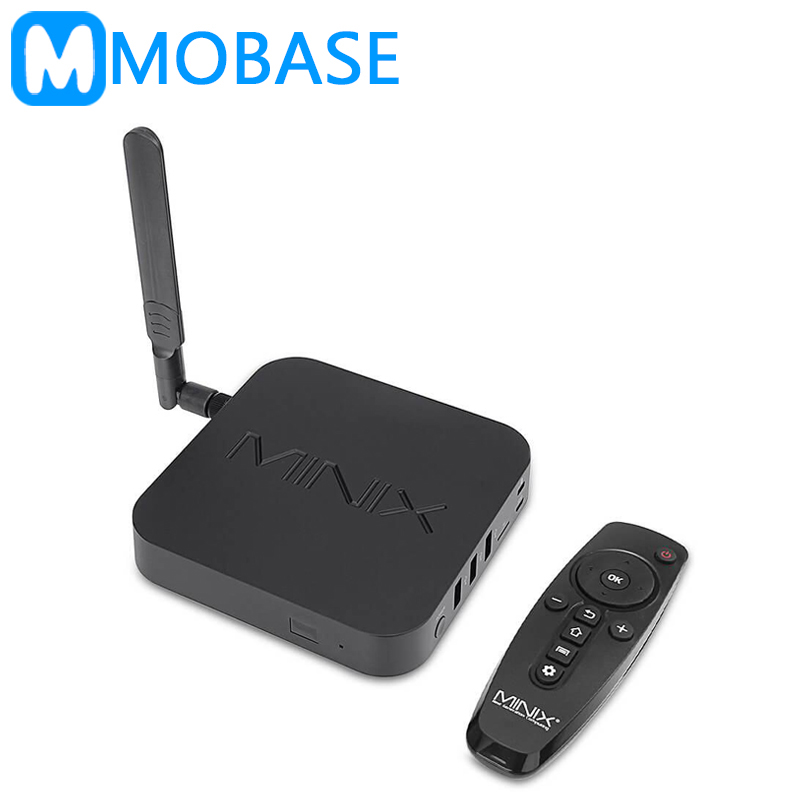 MINIX NEO U9-H Android TV Box Amlogic S912-H Octa Core 2g/16g 802.11ac 2.4/5 ghz wiFi H.265 Ultra HD IPTV Smart TV Box