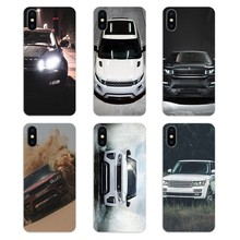 Silicone Phone Shell Cover For Apple iPhone 4 4S 5 5S 5C SE 6 6S 7 8 X XR XS Plus MAX Range Rover Evoque Amazing Car Poster(China)