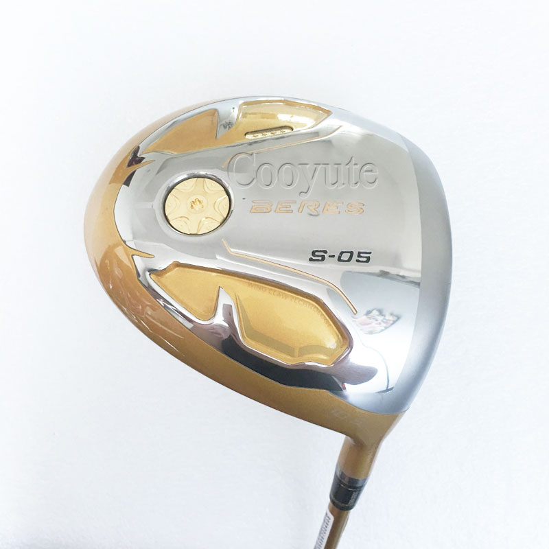 Cooyute New Golf clubs S-05  4Star Gold Golf driver 9.5or10.5 loft Graphite golf shaft RorS flex HON..MA driver Free shipping crestgolf complete golf club sets junior golf club set with stand bag for kids graphite shaft junior golf clubs