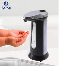 XOXO ABS Автоматический 400 мл датчик мыла диспенсер движения активировать Бесконтактный дезинфицирующее средство Диспенсер умный датчик для кухни ванной комнаты