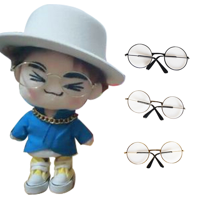 doll Glasses Doll Eyeglass Humorous Suitable For 20-25cm Exo Doll Straight Spectacle Frames 10cm Doll Glass Only,not Include The Doll