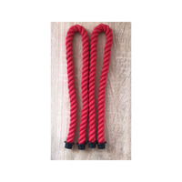 65cm 1 Pair Rope Handle For Obag Red Color Rope
