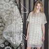 Europe And The United States Fairy Fan And Organza Embroidered Dress Shirt Skirts Custom Fabrics By